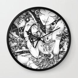 Tinkering Utopia Wall Clock