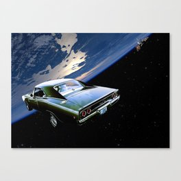 1968 Dodge Charger R/T - Heavy Metal Canvas Print