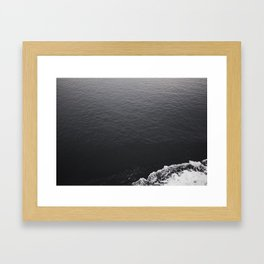 Endless Drift Framed Art Print