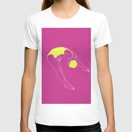 Dive into the Pink T-shirt
