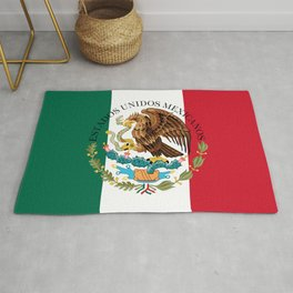 Mexican National Coat of Arms & Seal (HQ image) Rug