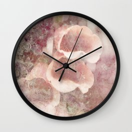 by the garden wall Wall Clock