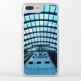 Canary Wharf station, London - Beautiful modern architecture Clear iPhone Case