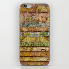 Around the World in Thirteen Maps iPhone & iPod Skin