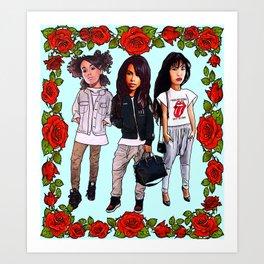 3 angels - The Producer BDB Art Print