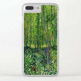 Vincent Van Gogh Trees & Underwood Clear iPhone Case