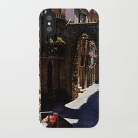 street iPhone & iPod Cases featuring street by  Agostino Lo Coco