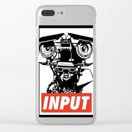 INPUT Clear iPhone Case