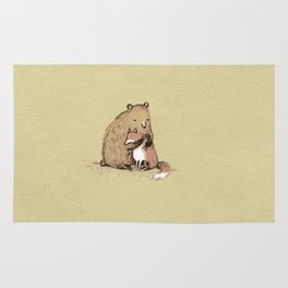 Grizzly Hugs Rug