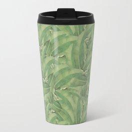 Banana Leaf Pattern Travel Mug