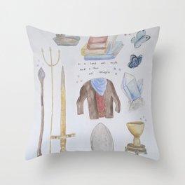 Merlin Throw Pillow