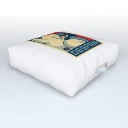 Monokuma Vote for Ultimate Despair Outdoor Floor Cushion