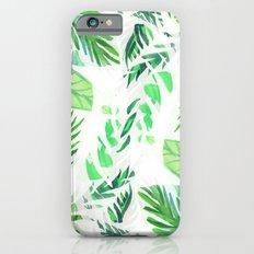 Leaf tropical pattern iPhone 6s Slim Case