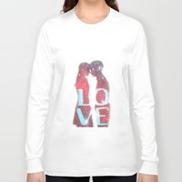 lovers Long Sleeve T-shirts featuring Lovers by EclipseLio