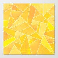 sunshine Canvas Prints featuring Sunshine by Elisabeth Fredriksson