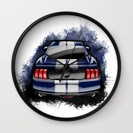 Ford Mustang GT Wall Clock