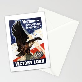 Victory - Now You Can Invest In It Stationery Cards