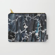 Grey Vines Carry-All Pouch