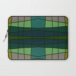 Green Pattern Turtle Laptop Sleeve