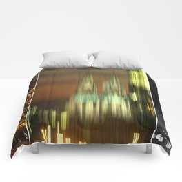 cologne cathedral Comforters