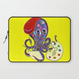 Painterpus Octopi Laptop Sleeve