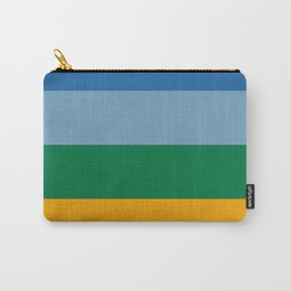 Exotic Stripes Print Carry-All Pouch