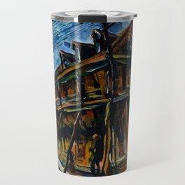 African American Masterpiece 'Jacobia Hotel' Florence, South Carolina by William Henry Johnson Travel Mug