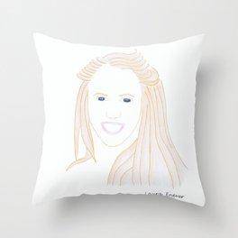 Laura Enever Throw Pillow