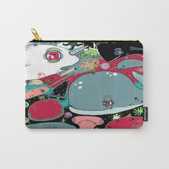 whale narwhal hammerhead shark sealife Carry-All Pouch