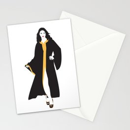 Mystique White Woman Stationery Cards