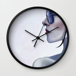Eyewear Fashion Victim Wall Clock