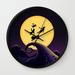 TAKE ME TO NIGHTMARE Wall Clock