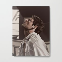 Castiel your God Metal Print