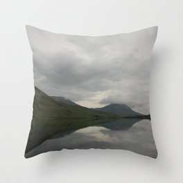 Still Irish Reflections Throw Pillow