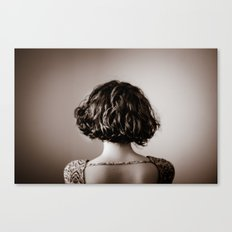 look away. Canvas Print