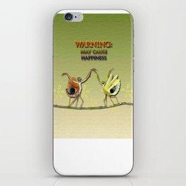 Warning: May Cause Happiness iPhone Skin