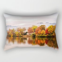 Lake Junaluska, North Carolina Rectangular Pillow