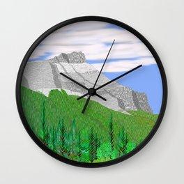 Mount Rundle (North Peak) Wall Clock