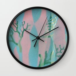 Ocean Sea Marine Pattern Print Wall Clock