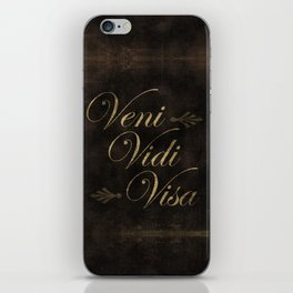 I Came, I Saw, I Shopped iPhone Skin