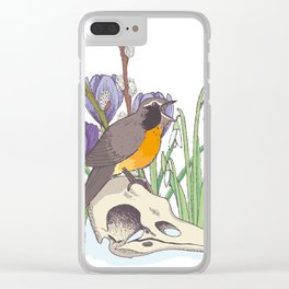 Hello, spring! Clear iPhone Case