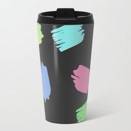 COLORFUL BRUSH  Travel Mug