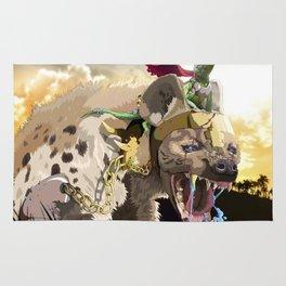 Pet Hyena Rug