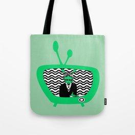 👽 MARS TV 📺  Tote Bag
