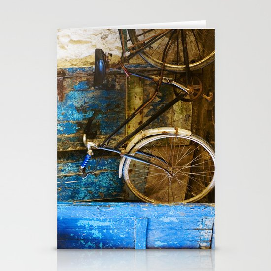 Blue Bicycle Stationery Cards