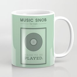 Made to be Played — Music Snob Tip #33⅓ A Coffee Mug