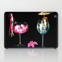 cocktail iPad Cases featuring Cocktail by Simone Gatterwe