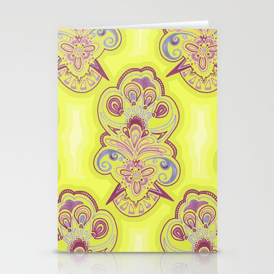 Afternoon Wallpaper Stationery Cards