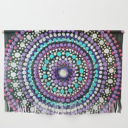 Dotted Mandala Wall Hanging