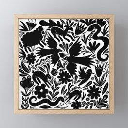 Nursery rhyme garden 001 Framed Mini Art Print